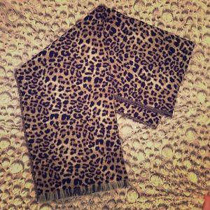 A New Day Cheetah Print Blanket Scarf